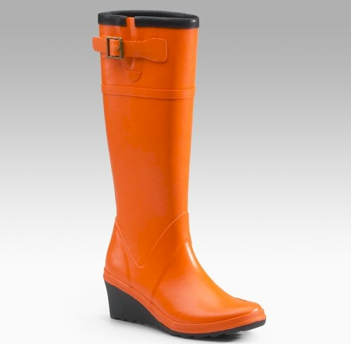 michael kors wedge rain boots