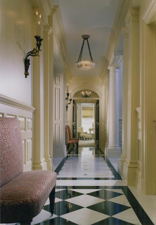 Foyer Corridor — $16.9 Million Greenwich, Connecticut Mansion