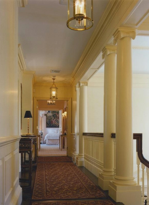 Upstairs Corridor — $16.9 Million Greenwich, Connecticut Mansion