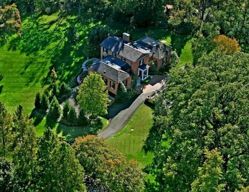$2.95 Million Commanding Brick Home in Ladue, Missouri