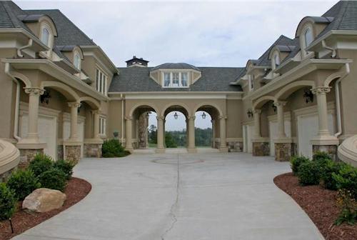 Motor Court — $6.9 Million Fabulous Mediterranean Estate in Atlanta, Georgia