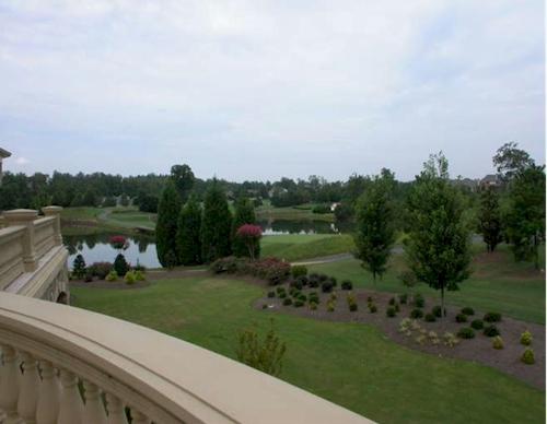 Golf Course — $6.9 Million Fabulous Mediterranean Estate in Atlanta, Georgia