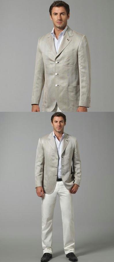 Brioni Herringbone Jacket