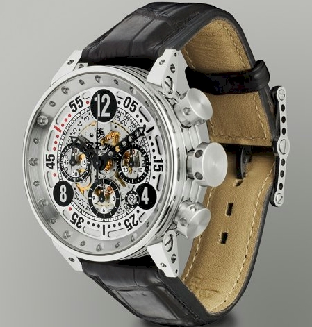 BRM Chrono-Automatic Watch with Gator Strap