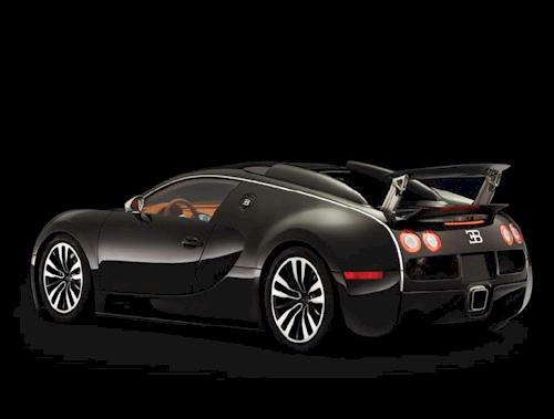 Bugatti Veyron Sang Noir sport car