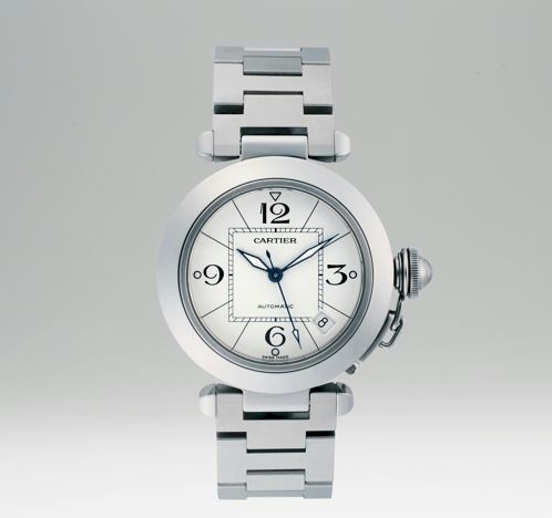 Mother's Day Gift Idea: Cartier Pasha C de Cartier Watch