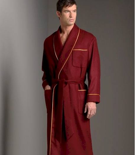 Daniel Hanson Cashmere Robe