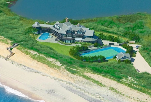 Village Oceanfront Sanctuary in Southampton, New York