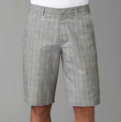 Theory Derrion Cotton/Linen Shorts