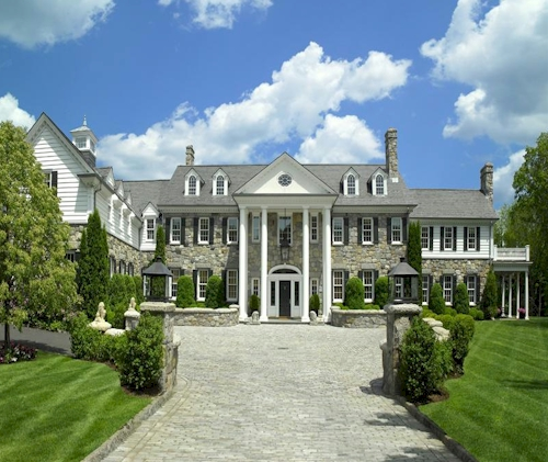 Estate Of The Day: $27.9 Million Stone Hill Mansion In