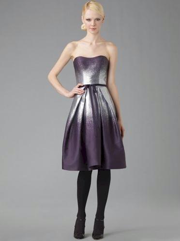 Carolina Herrera Strapless Full Skirt Dress
