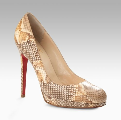 Christian Louboutin New Simple Python Pumps