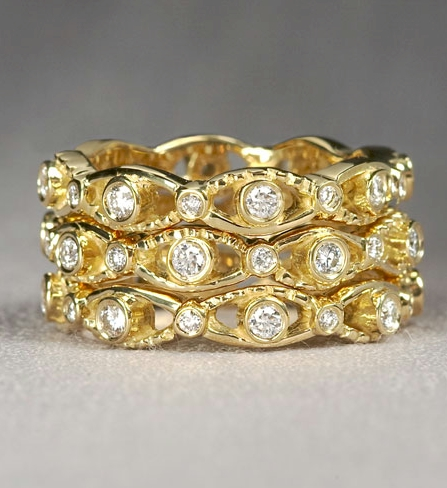 Cleopatra Stack Ring