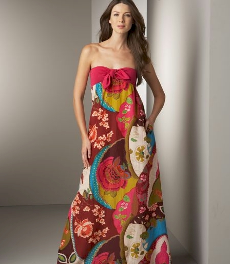 Dallin Chase Lou Printed Gown