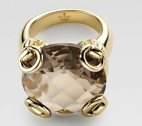 Gucci Horsebit Cocktail Ring