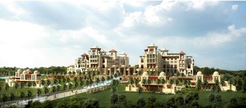 Hotel at the Tiger Woods Dubai resort designed by Elle Saab