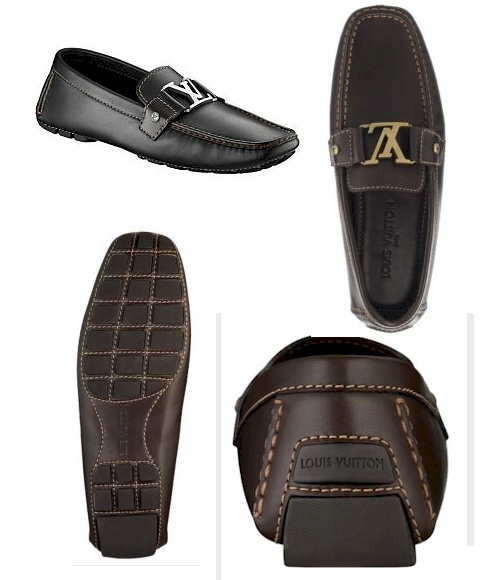 Louis Vuitton Monte Carlo Initials Loafer