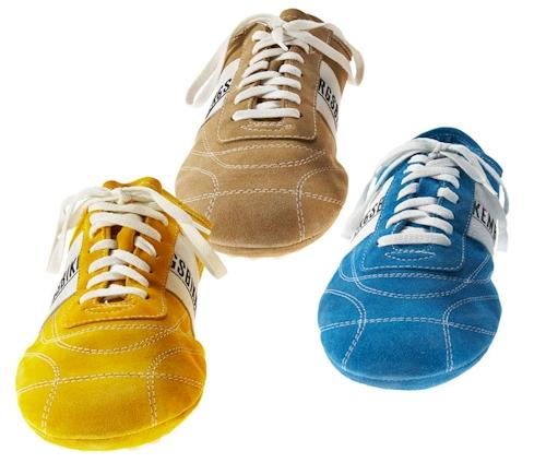 Men's Suede Softy Sneakers by Dirk Bikkembergs