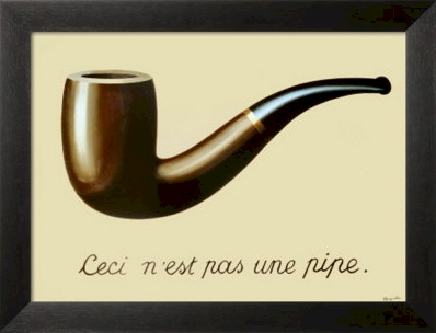 This Is Not A Pipe by Rene Magritte