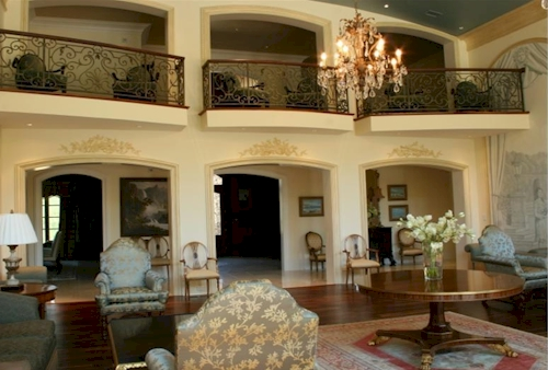 Two Story Sitting Room