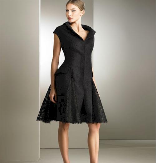 Alexander McQueen Boucle Coat Dress