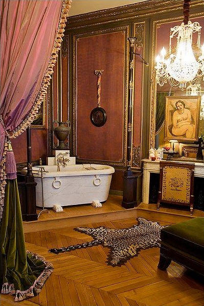 Belle Epoque Apartment in Paris, France