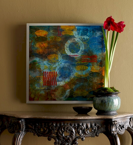 """Circles"" Acrylic on Canvas"