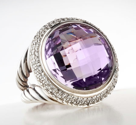 David Yurman Lavender Amethyst Cerise Ring
