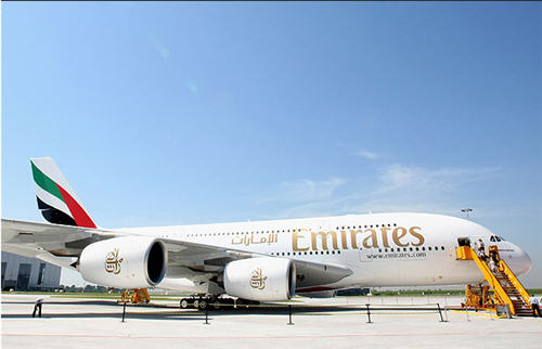 Fly Emirates A380
