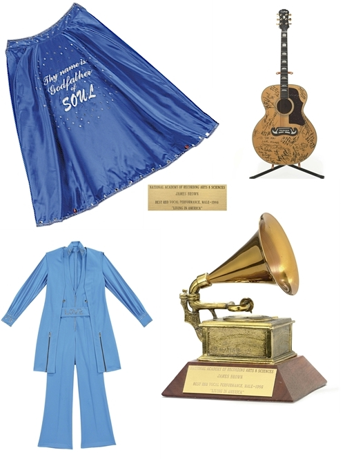 James Brown Collection items