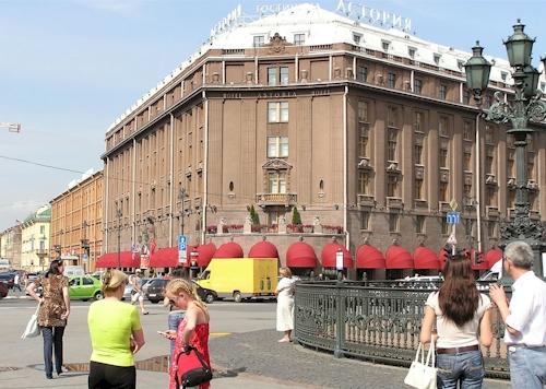 Hotel Astoria in St Petersburg, Russia