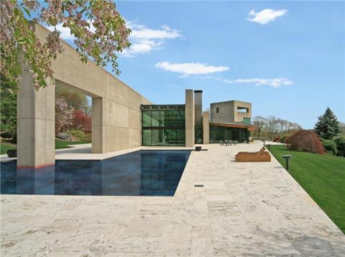 $10 Million Modern Minimalist Masterpiece in Ridgefield, Connecticut