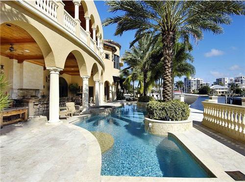 $16.9 Million Mediterranean Mansion in Delray Beach, Florida