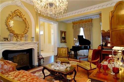 Formal Parlor and Music Room