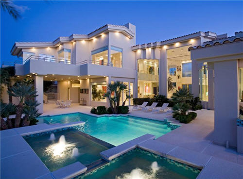 Estate of the day 3 7 million contemporary home in las for Reve dream homes