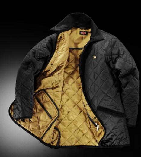 Bugatti black quilted jacket