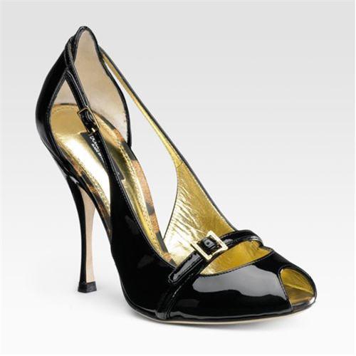 Dolce & Gabbana Patent Sandals
