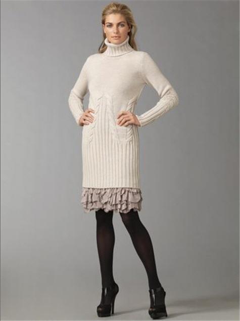 Fendi Turtleneck Sweater Dress