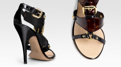 Giuseppe Zanotti T-Strap Sandals