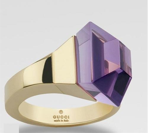 Gucci Horsebit Nail Cocktail Ring