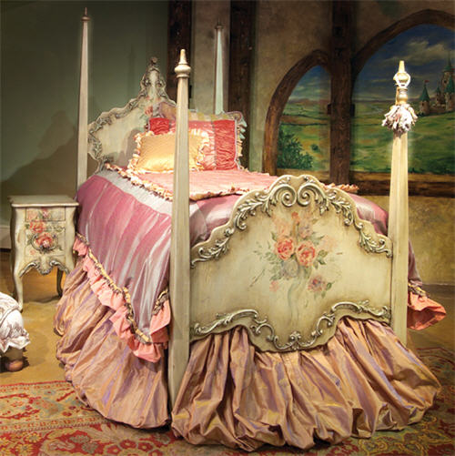 Perfect For A Princess: Guinevere's Four-Post Bed and Bedding
