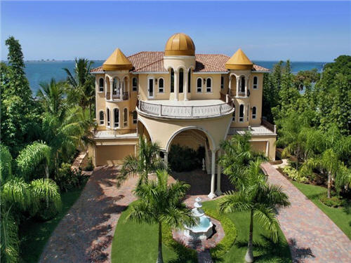 Estate Of The Day Indian Style Beach House In Sarasota Florida