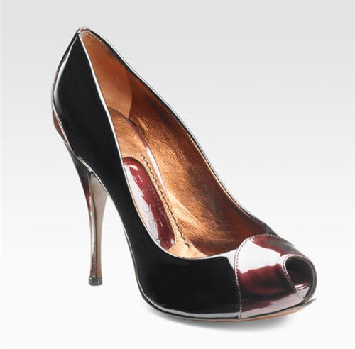Jonathan Kelsey Patented Peep-Toe Pumps