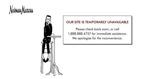 Neiman Marcus site unavailable
