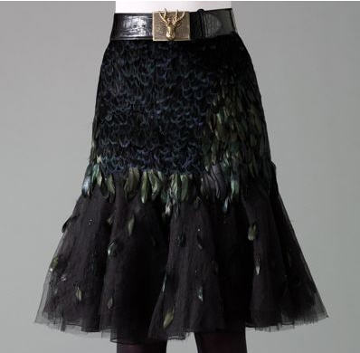 Ralph Lauren Bergman Embroidered Skirt