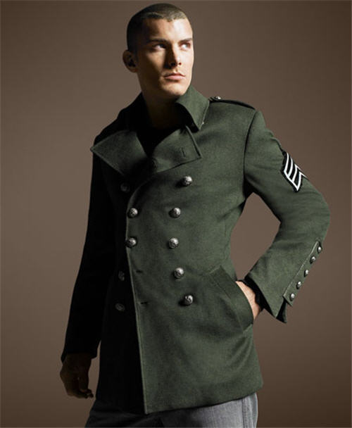 Royal Underground Military Coat