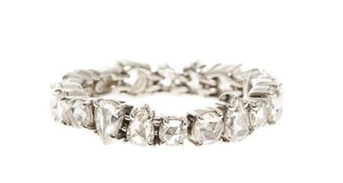 Sharon Khazzam White Diamond Ring