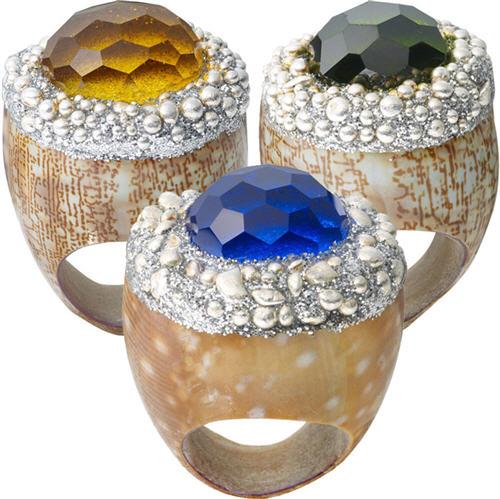 Shell Rings by Mesi Jilly