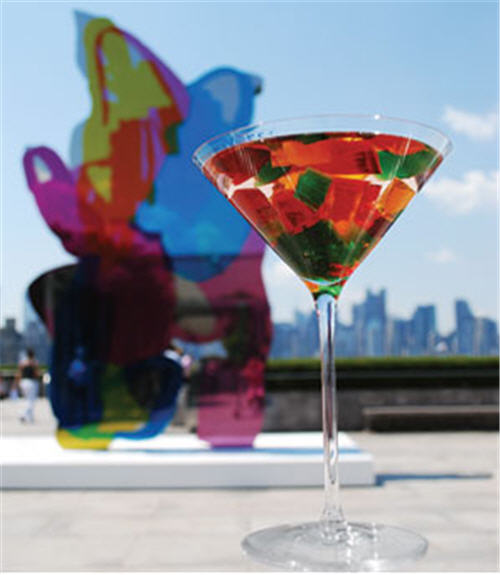 The Coloring Book: A Cocktail Tribute To Jeff Koons