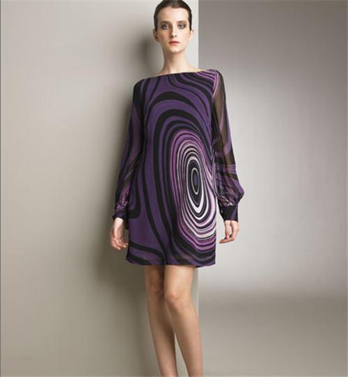 Valentino Optic Print Dress